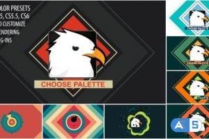 Videohive – Shape Bomb Logo Reveal – 6426269