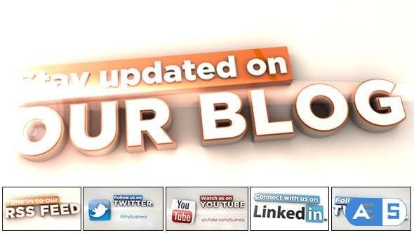 Videohive – Social Media Icons – 3283514