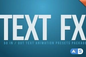 VideoHive – Text Fx Vol.1 2544178