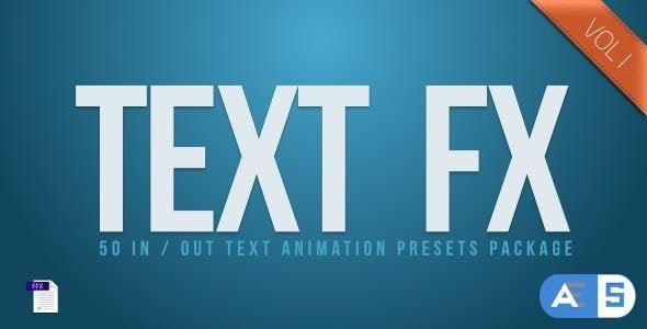 VideoHive – Text Fx Vol.1 2544178
