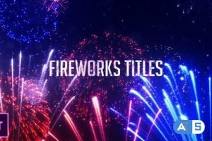 Videohive Fireworks Titles 24823287