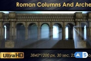 Videohive – Roman Columns And Arches 21698881