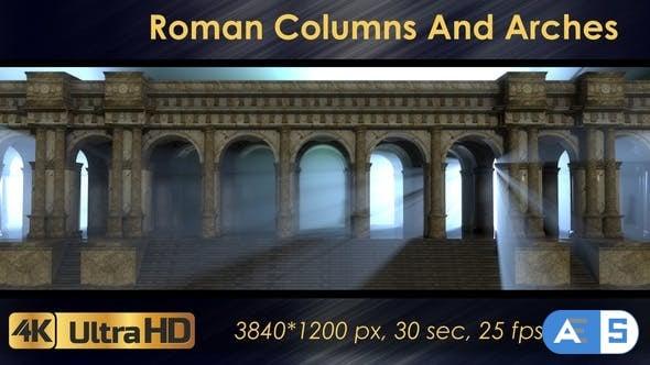 Videohive – Roman Columns And Arches 21698881