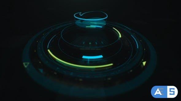 Videohive HUD Tech Intro 22847357