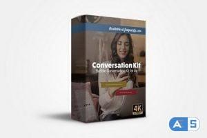 FlatPackFx – Speech Bubble Kit – After Effects