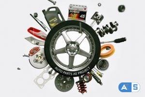 Videohive – Auto Parts – 25253400