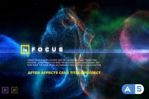 Videohive – In Focus – Particle Titles 23243653