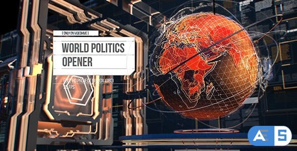Videohive – World Politics News Openers/ Business and Technology Intro/ Political and Digital World Ears Openers 18187686