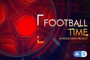 Videohive – Football Time/ Action Promo Id/ Soccer Intro/ League of Champions/ World Cup/ Sport Broadcast 16507717