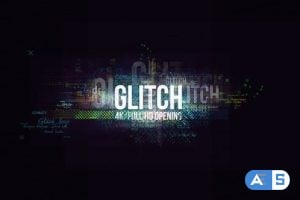 Videohive – Glitch Logo/ Digital Hi-Technology Intro/ Distortion Transitions/ Hud Opener/ Youtube Blogger/ Text – 23619879