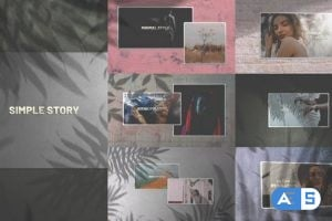 Videohive – Simple Story/ Minimal Slides/ Clean Slideshow/ Travel Cinematic Opener/ Lovely Slideshow/ Art Shadow – 24981840