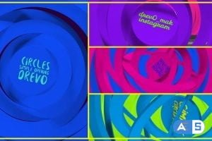 Videohive – Circles Simple Opening/ Transitions/Minimal Logo/ Youtube Clean Intro/ Cartoon Kid TV/ Corp/ IGTV – 25062794