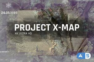 Videohive – Project X MAP / Technology Paralax Slideshow / 3D Camera / Clean Travel Memories / Satellite Photo 21257538