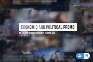Videohive – Economic and Political Promo/ Digital HUD Slide/ Sci-fi Technology/ Business Presentations/ Images – 17407520