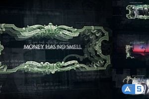 Videohive – Money Has No Smell/ Dollars Rule The World/ Banknotes and Bonds/ Business/ Economics/ Corporate/ $  20488295