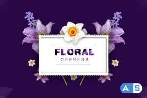 Videohive – Floral Openers/ Live Flovers Wedding Titles/ Love Memories/ Spring Mood/ Beauty Bloggers Instagram – 10520723