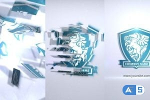 Videohive – Crystal Parts Logo Sting 25135182