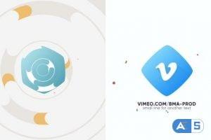 Videohive Flat Logo Intro 22351639