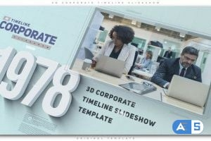 Videohive – 3D Corporate Timeline Slideshow 23169758