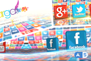 Videohive – 3D Social World – 10965294