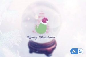 Videohive – Christmas Snow Globe Grettings 13745742