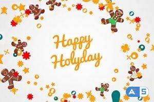 Videohive Christmas Wreath 13843365