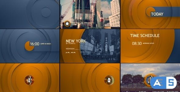 Videohive – Circle Broadcast Pack 10935959