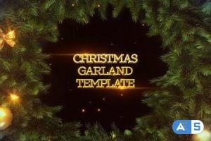Videohive Garland Christmas Slideshow 13831534