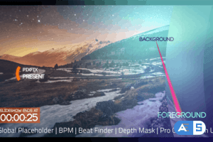 VideoHive Clean Parallax BPM Slideshow 17920562