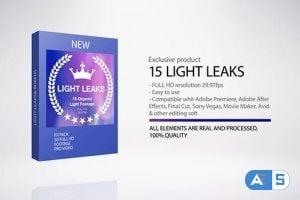 Videohive Light Leaks 18413465