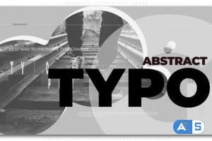 Videohive – Abstract Typography Intro 25241798