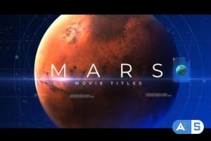 Videohive Mars Movie Titles 25297356