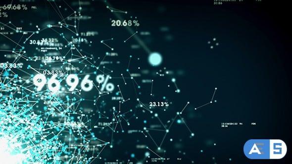 Digital Big Data Network Background 19231410