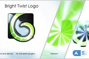 Videohive – Bright Twist Logo – 12914702