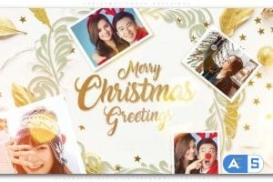 Videohive – Christmas Photo Greetings – 25234467