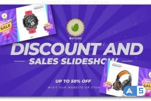 Videohive – Discount and Sales Slideshow – 25234226