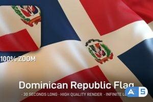 Videohive – Dominican Republic Flag 24635345