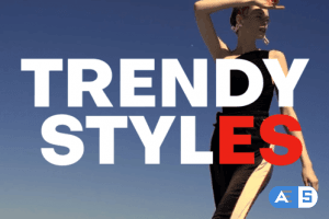Videohive Fashion Opener | Bold Typography 23175243