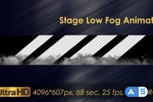 Videohive – Stage Low Fog Animation 20924443