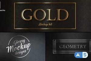 Videohive – Gold Titles Kit 25267955