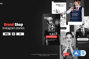 Videohive – Instagram Stories – Brand Shop – 24911510