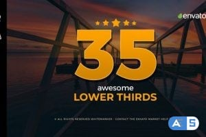 Videohive – Awesome Lower Thirds for FCPX 23081399