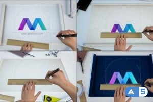 Videohive – Scroll Blueprints Logo Reveal Bundle – 23556858