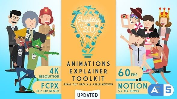 Videohive – Brightly | Animations Explainer Toolkit V2.0.1 – 20324287