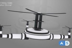 Videohive Television – Drone Animation 10245777