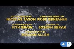 Videohive Cine Credit V.8 25087912