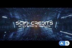 Videohive – Sci-fi Tunnel Credits 25354049