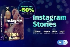 Videohive – Instagram Stories | For Premiere Pro 25294175