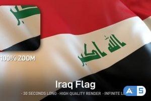 Videohive – Iraq Flag 24635349