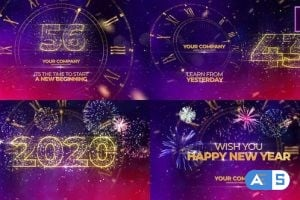 Videohive – New Year Countdown 2020 25295409